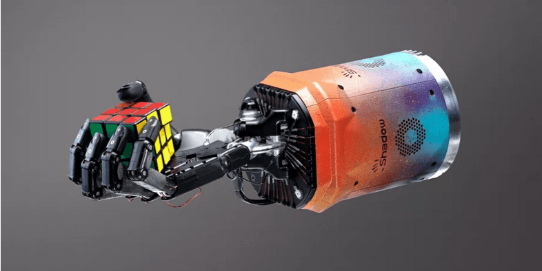 AI-powered Robotic Hand Learns to Solve Rubik's Cube